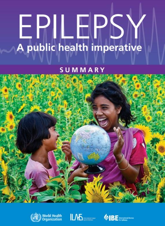 Epilepsy public health WHO bureau league