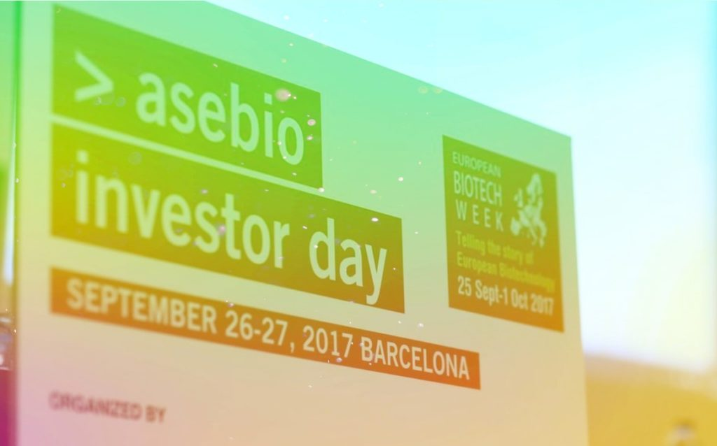 Asebio Investor day 2019 Barcelona health tech