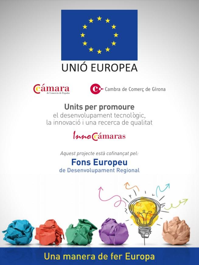InnoCamara Camara de Comercio Girona Fondo europeo Investigación Innovación