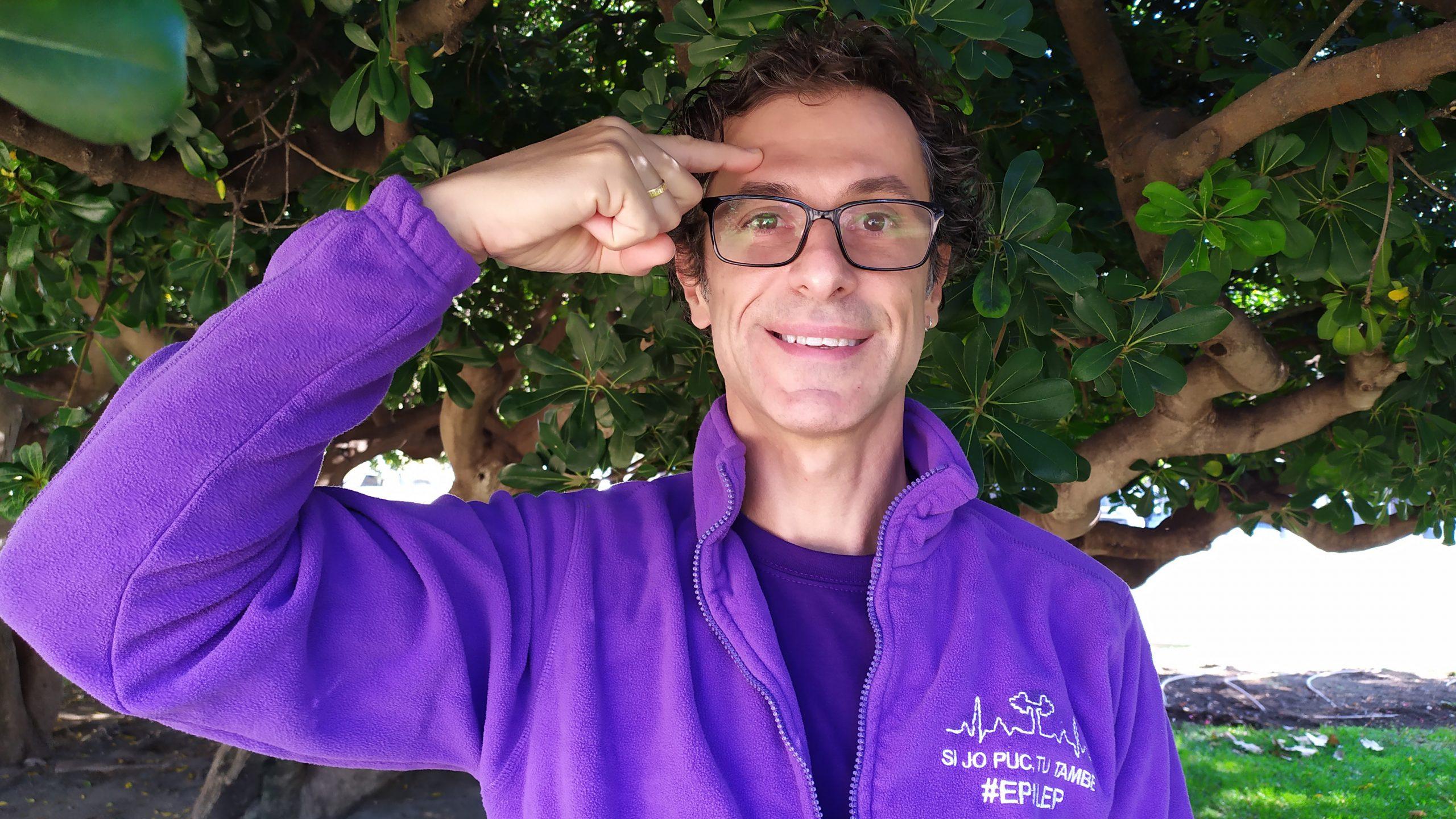 """David Sanahuja """"Busco visualizar y dar a conocer la epilepsia"""""""