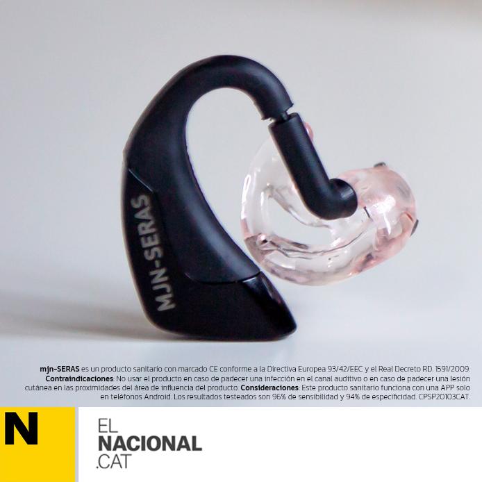 Diseñan un auricular que predice las crisis epilépticas minutos antes