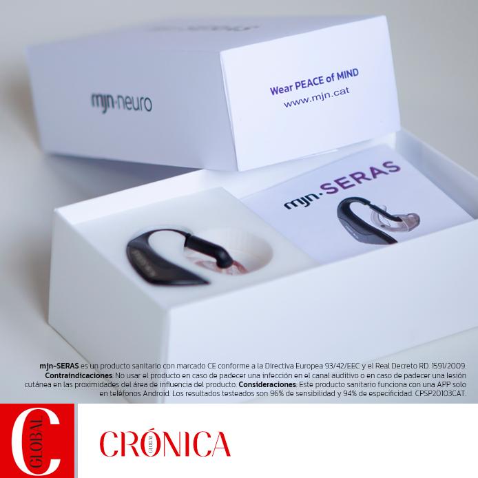 Una startup catalana crea un auricular capaz de predecir las crisis epilépticas